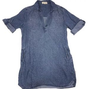 Cloth and Stone Chambray Tunic Size Med
